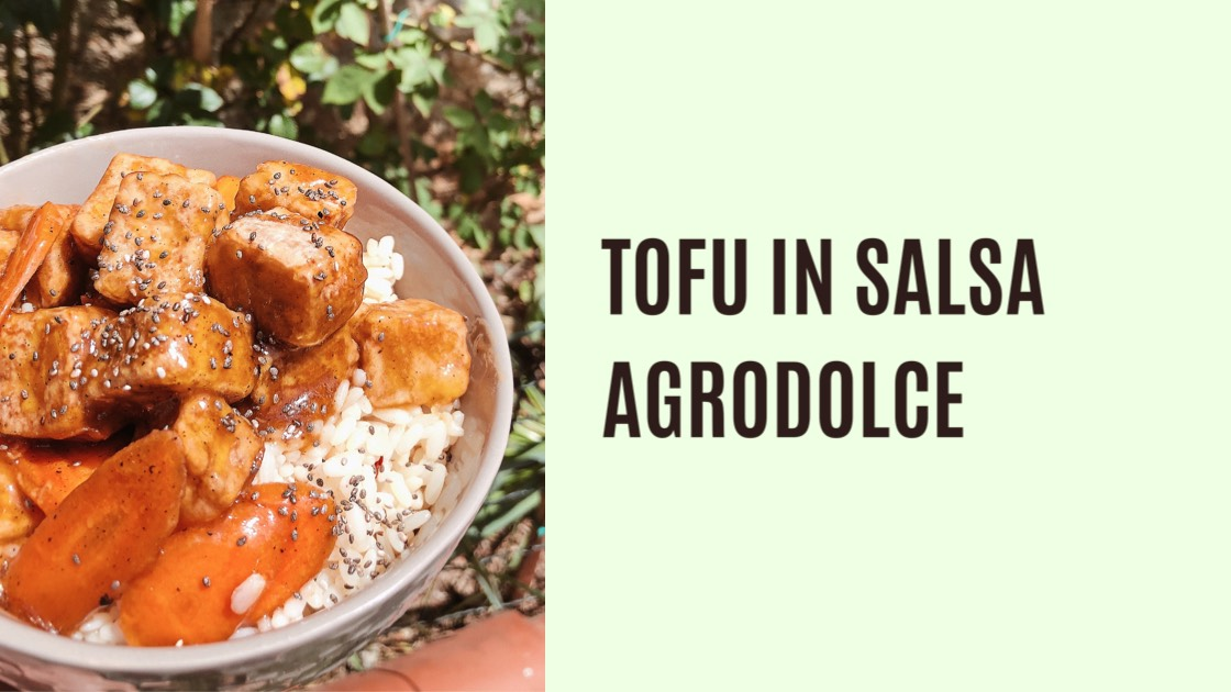 tofu in salsa agrodolce